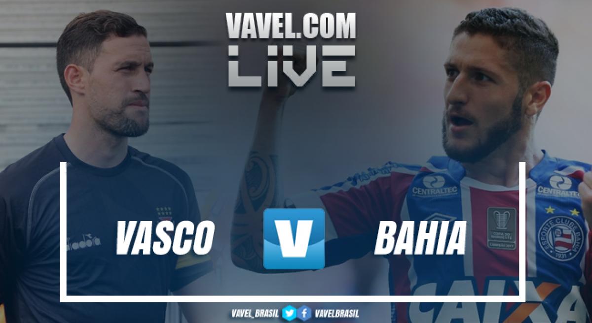 Resultado Vasco x Bahia pelas oitavas de final da Copa do Brasil (2-0)