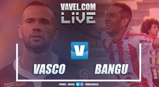 Resultado e gols de Vasco x Bangu pela Taça Rio (1-2)