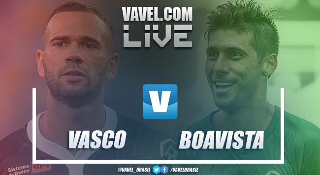 Resultado final Vasco x Boavista pela Taça Rio (2-0)