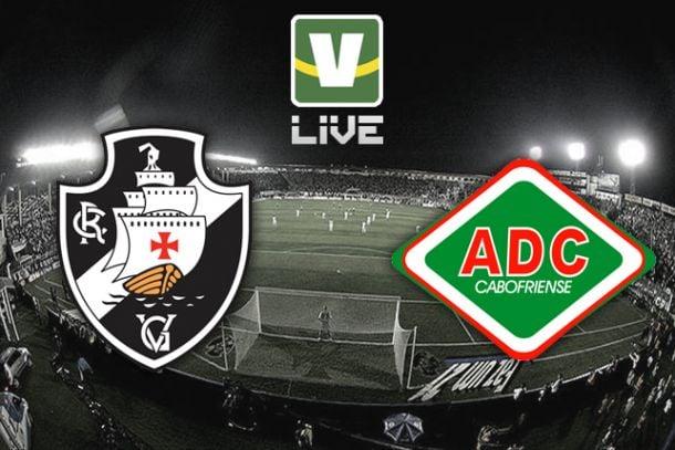 Vasco da Gama x Cabofriense, Campeonato Carioca ao vivo online