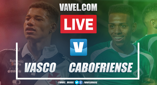 Vasco x Cabofriense AO VIVO pelo Campeonato Carioca (0-0)