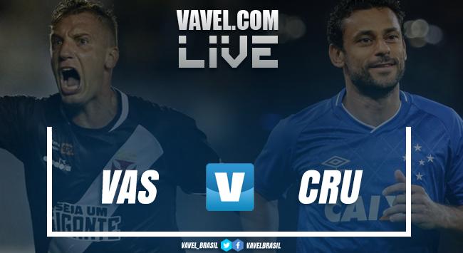 Resultado Vasco 2x0 Cruzeiro no Campeonato Brasileiro 2018