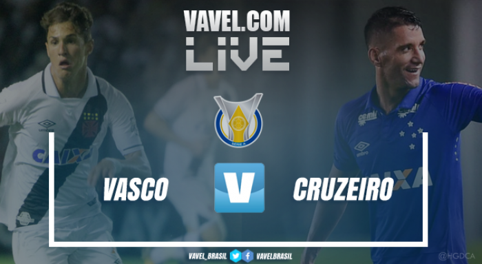 Resultado Vasco da Gama x Cruzeiro no Campeonato Brasileiro (0-3)