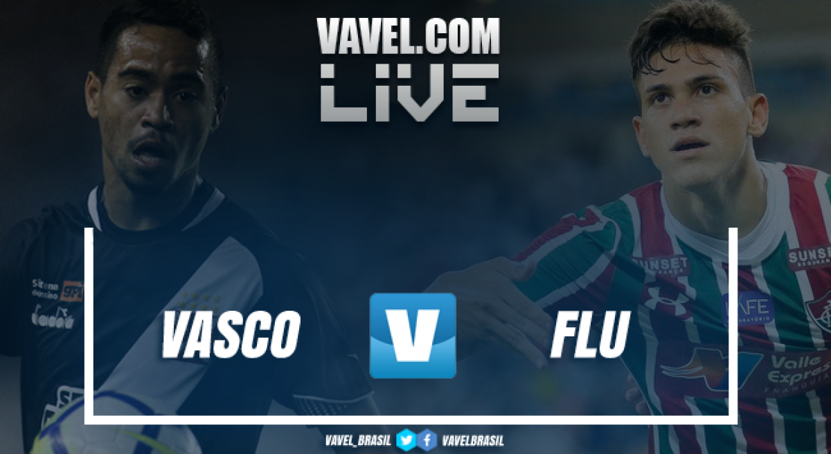 Resultado Vasco 2 x 1 Fluminense no Campeonato Brasileiro 2019