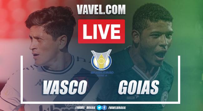 Gols e melhores momentos de Vasco 3 x 2 Goiás pelo Campeonato Brasileiro