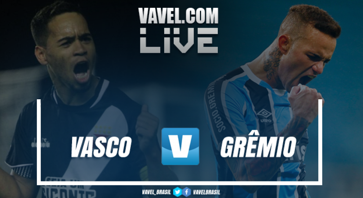 Resultado Vasco 1 x 0 Grêmiopelo Campeonato Brasileiro 2018
