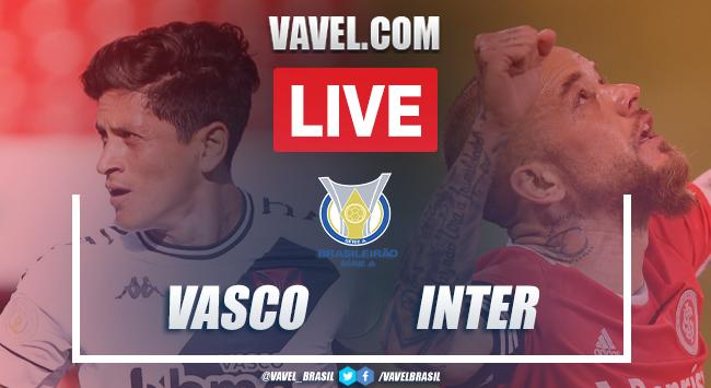 Gols e melhores momentos de Vasco 0 x 2 Internacional pelo Campeonato Brasileiro