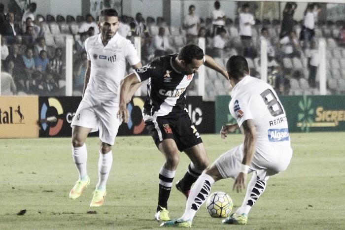 Resultado Vasco da Gama x Santos na Copa do Brasil (2-2)