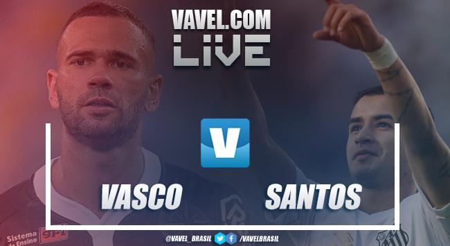 Resultado Vasco x Santos pela Copa do Brasil (2-1)