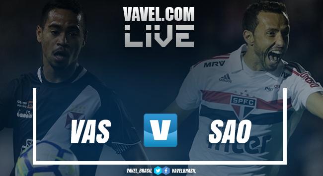 Resultado Vasco xSão Paulo pelo Campeonato Brasileiro (2x0)