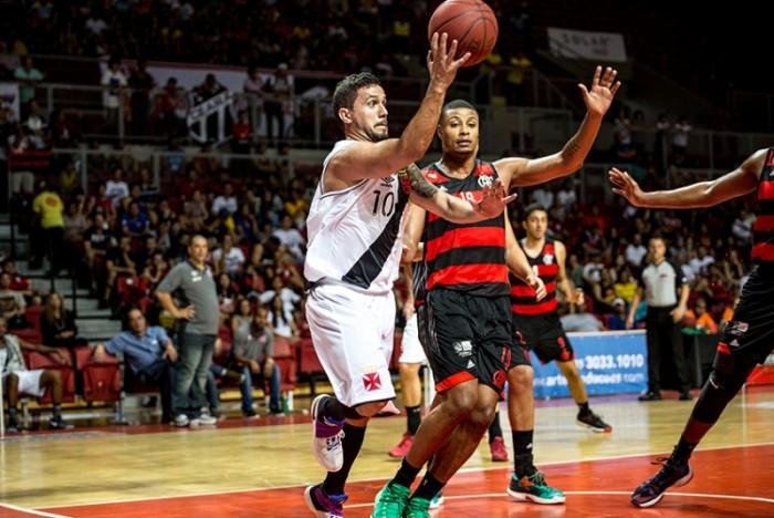 Resultado Vasco e Flamengo na final do Campeonato Carioca de Basquete em partida 2