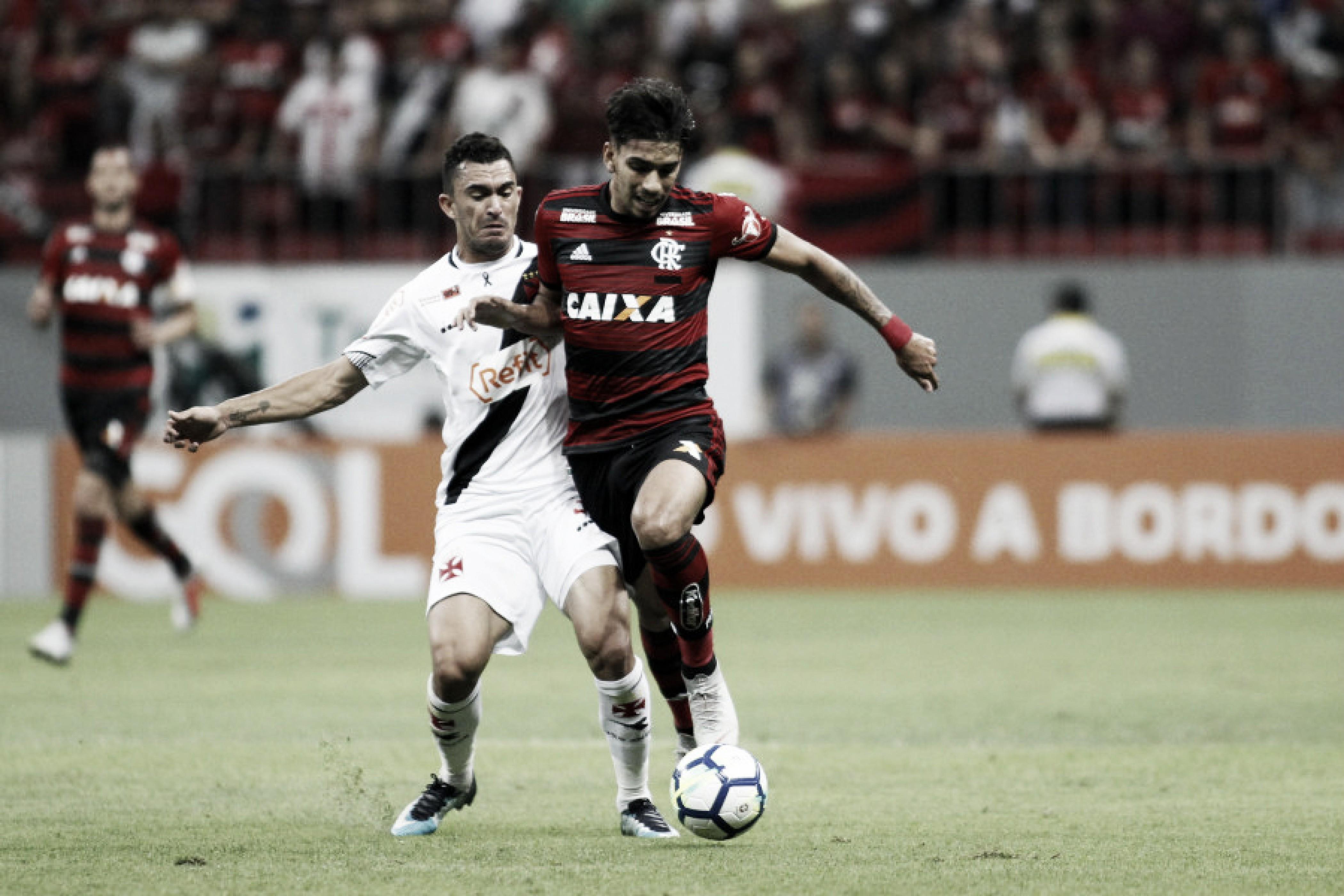 Em jogo movimentado, Vasco e Flamengo empatam no Mané Garrincha