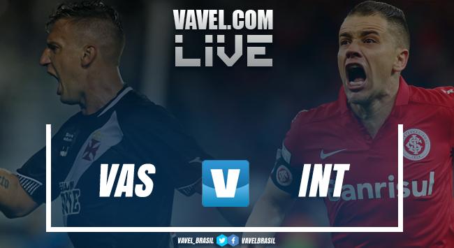 Resultado Vasco x Inter no Campeonato Brasileiro (1-1)