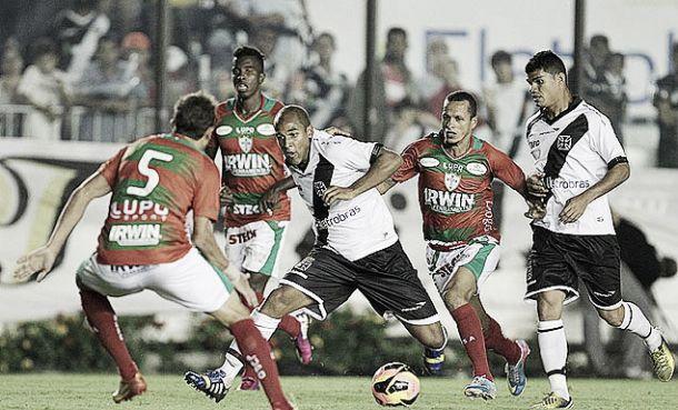 Buscando recuperação, Vasco e Portuguesa se enfrentam em Volta Redonda