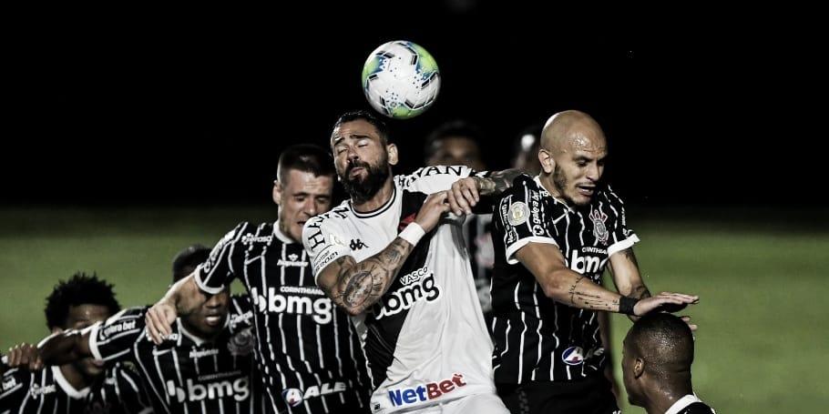 Pressionados pela vitória, Corinthians e Vasco fazem duelo decisivo pelo Brasileirão