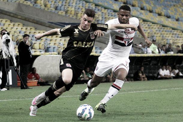São Paulo empata com Vasco no Maracanã e avança às semifinais