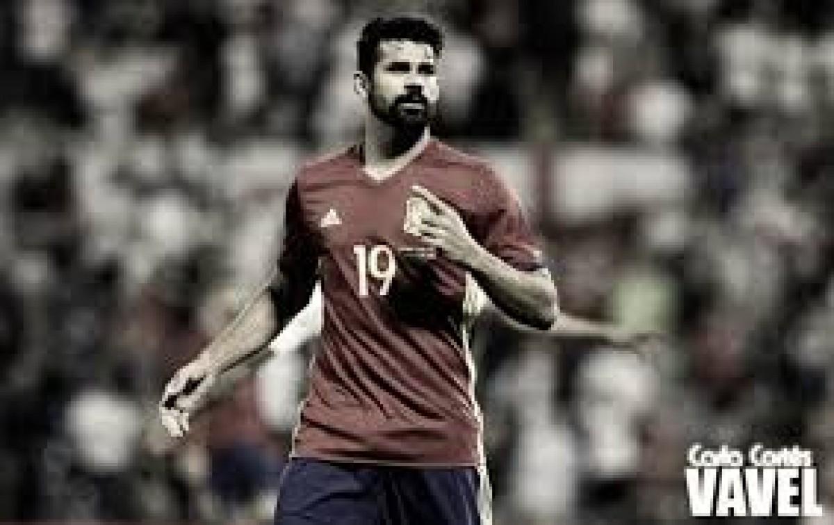 Diego Costa pede dispensa da Seleção Espanhola por questões familiares