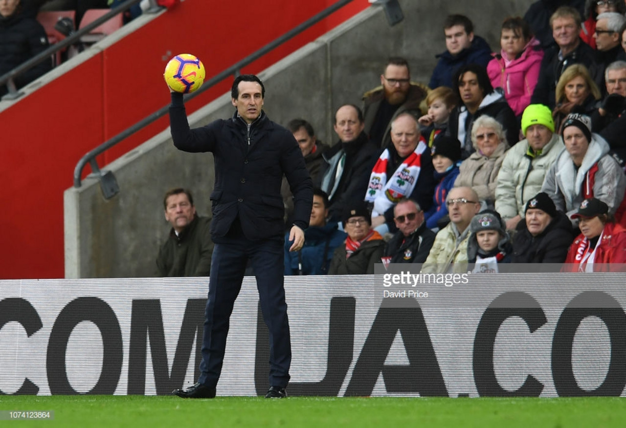Emery demands North London Derby response after end of unbeaten streak