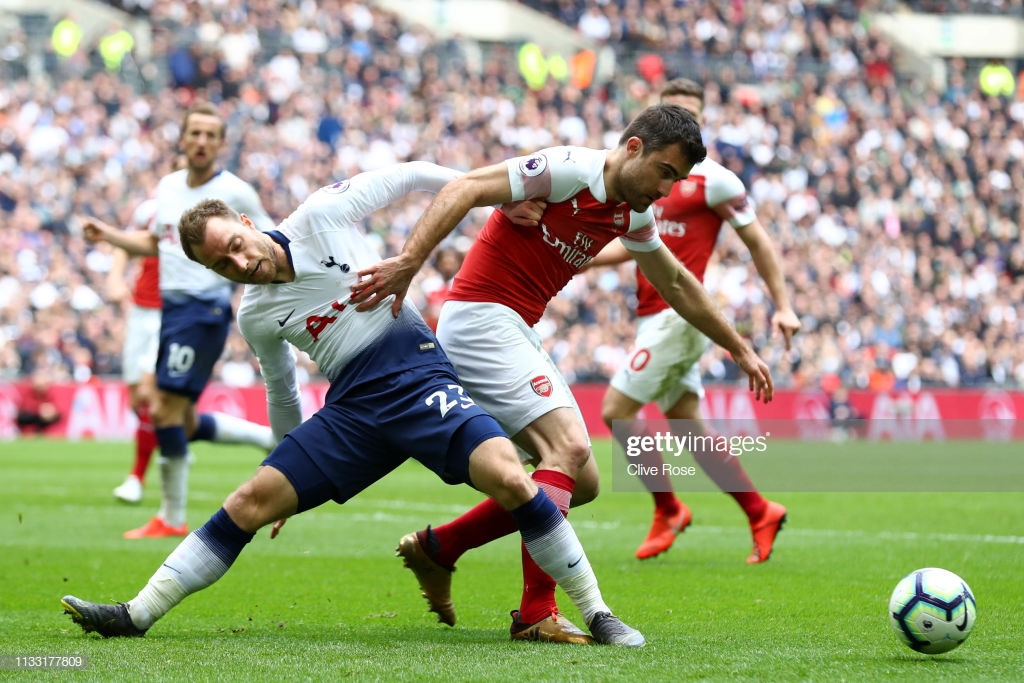 Sokratis insists Arsenal content with a point after north London derby drama