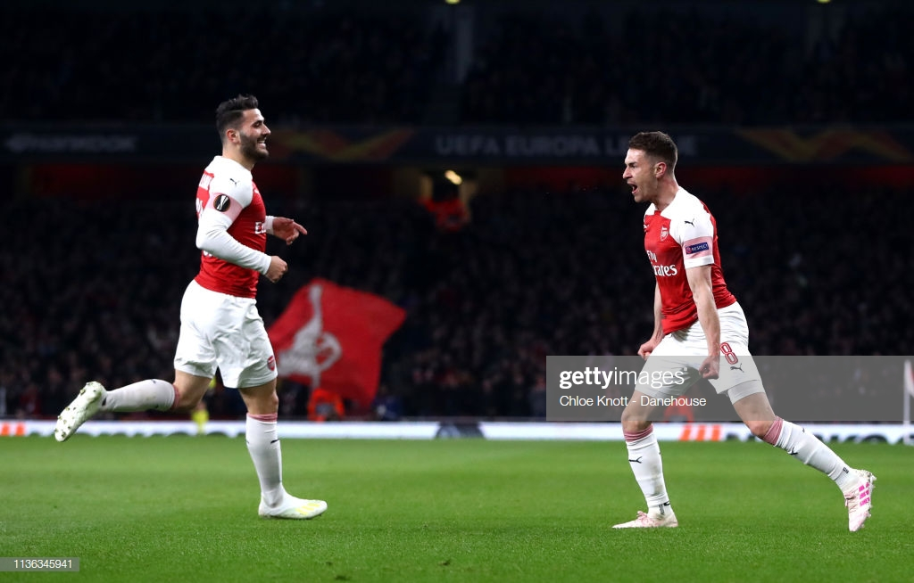 Ramsey unfazed by Arsenal's away struggles ahead of Napoli 2nd leg