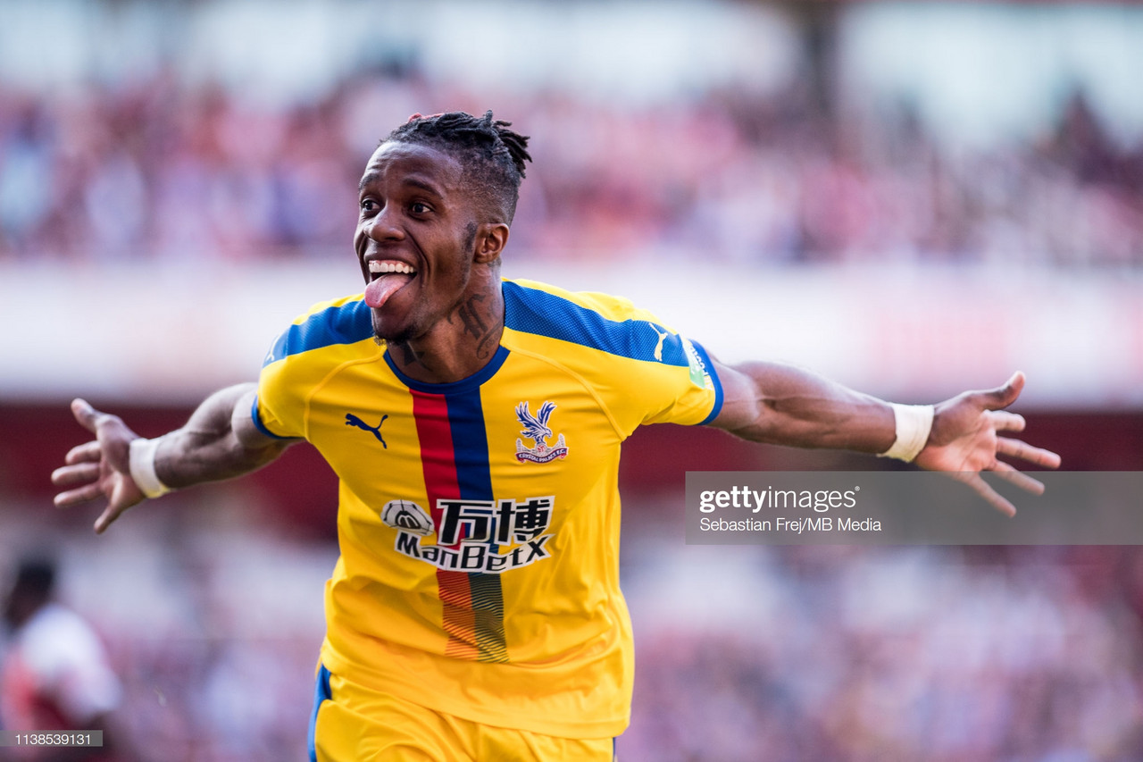 £80m-rated Wilfried Zaha reportedly wants Arsenal move