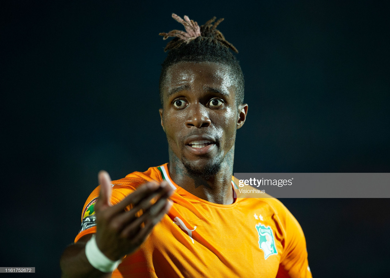 Crystal Palace reject Arsenal's improved offer for Wilfried Zaha