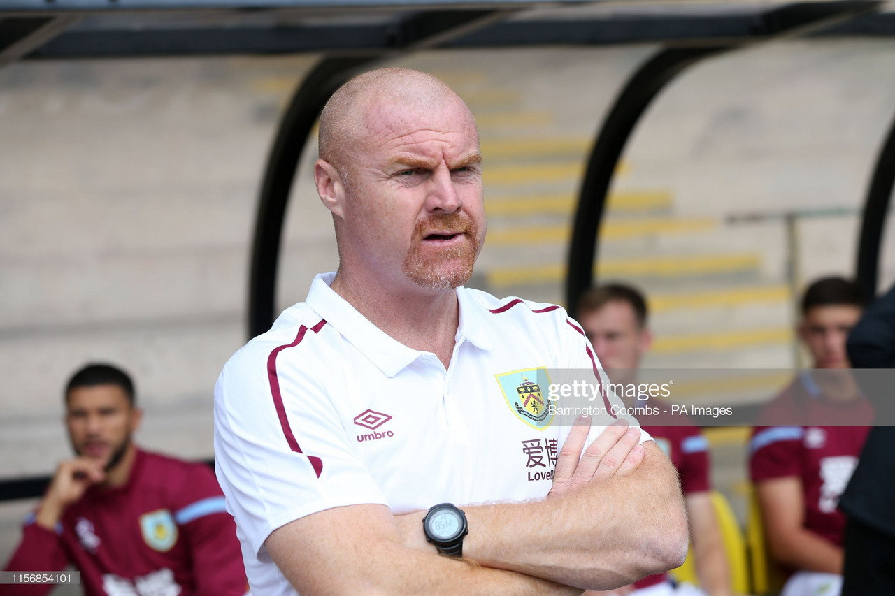 A win and a defeat for Burnley in concurrent friendlies