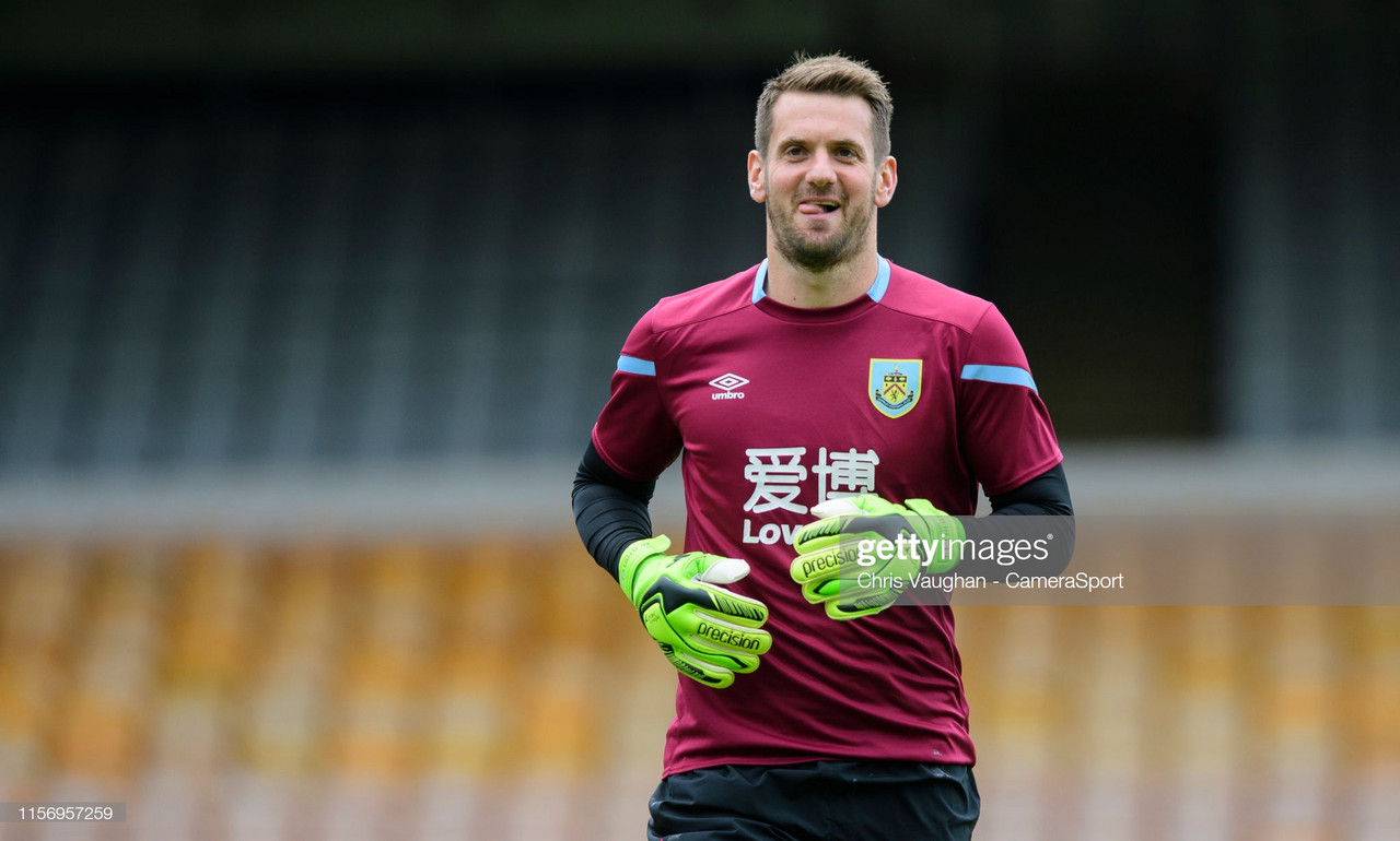 Sean Dyche to continue Burnley's 'keeper rotation against Nice and Parma