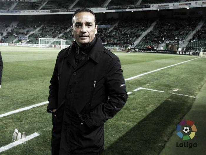"""José Luis Oltra: """"Hay que ser ambiciosos"""""""