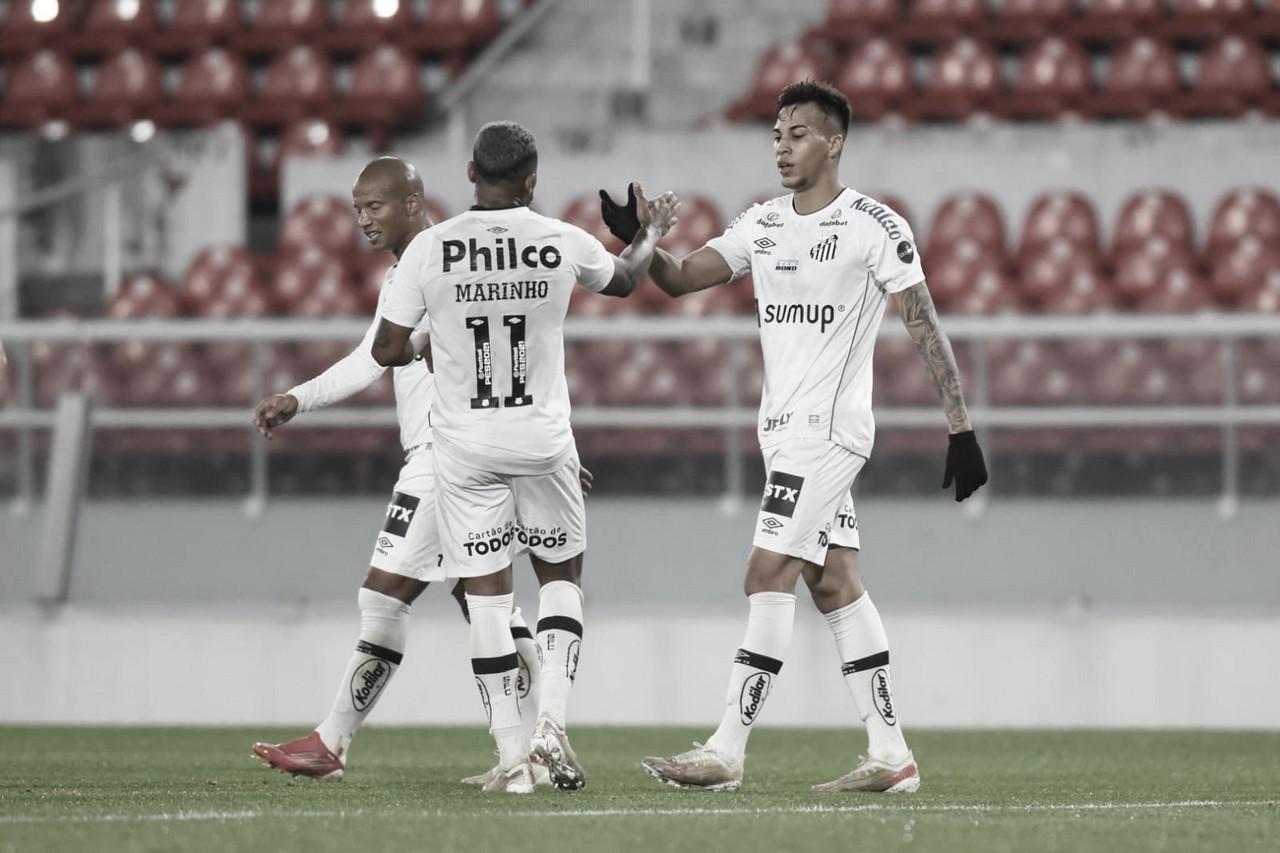 Santos empata com Independiente e segue às quartas de final da Sul-Americana