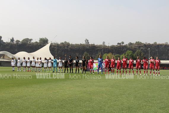 Fotos e imágenes del Pumas Femenil 0-1 Toluca Femenil del Clausura 2019