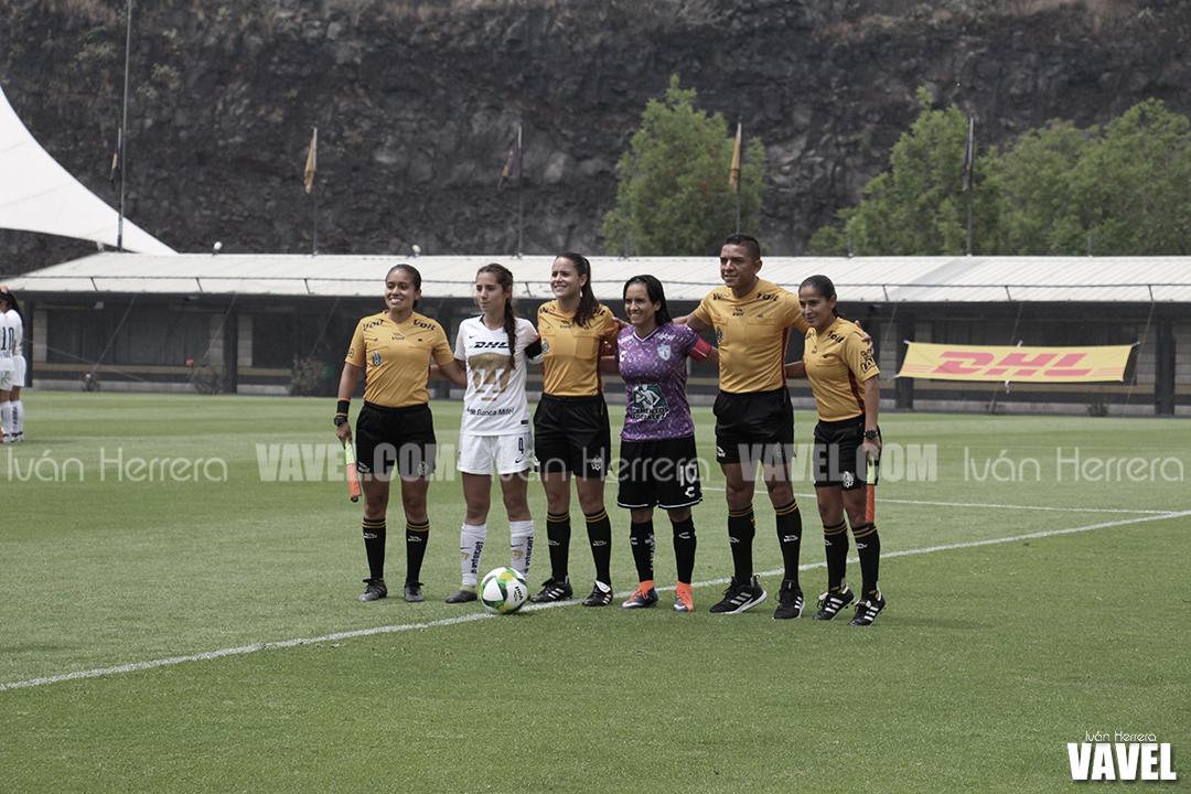 Fotos e Imágenes de Pumas Femenil 0-1 Pachuca Femenil del Clausura 2019