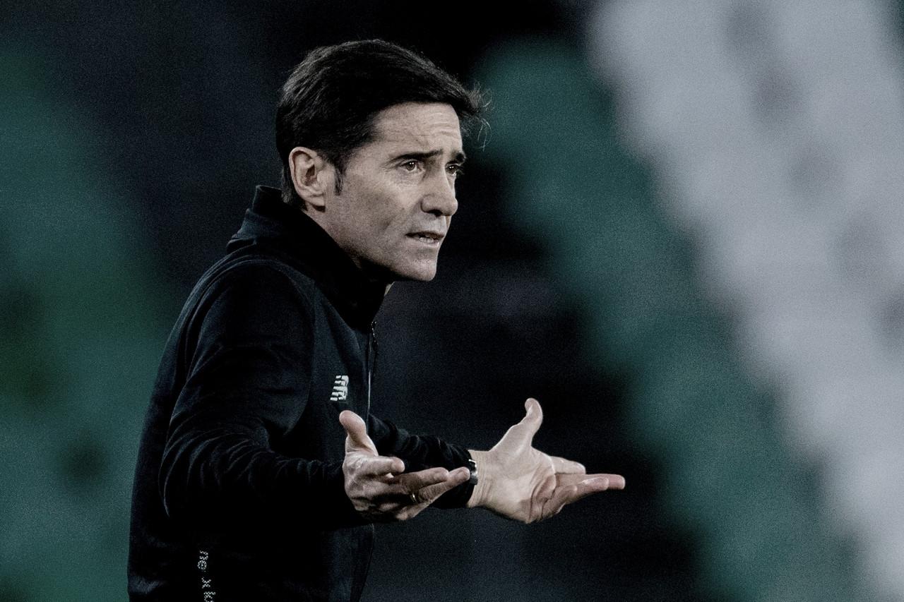"""Marcelino contento con el empate: """"No acertamos, pero generamos mucho"""""""