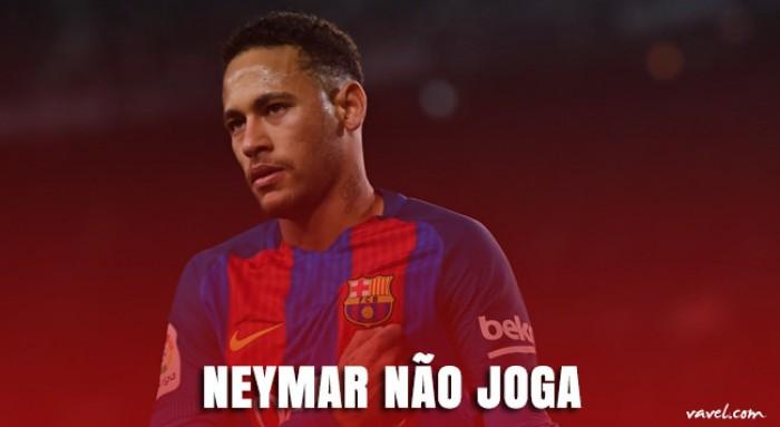 Como a ausência de Neymar no El Clásico afeta o jogo do Barcelona?