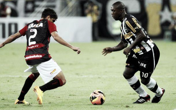 Separados por um ponto, Botafogo enfrenta o Vitória pelo Brasileiro