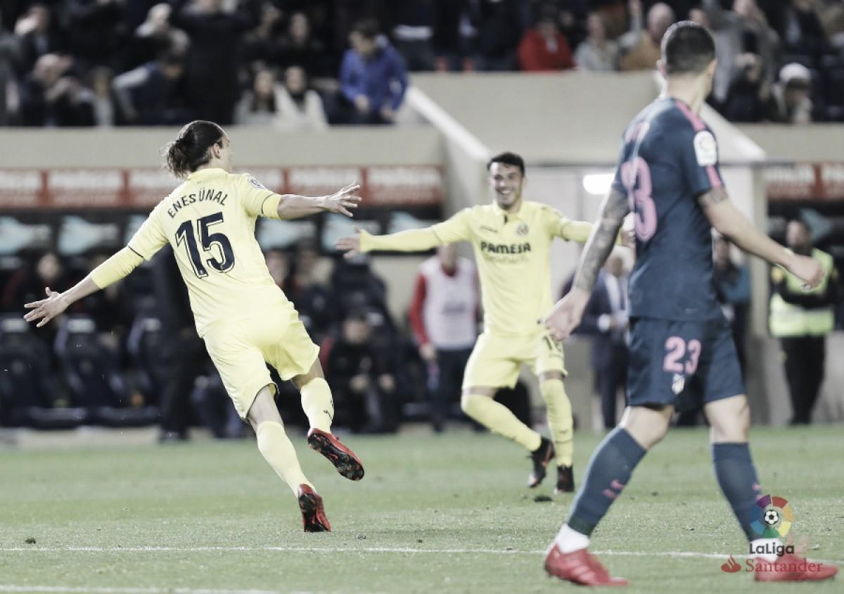 Villarreal vira sobre Atlético de Madrid e ganha conforto na briga por vaga na Europa League