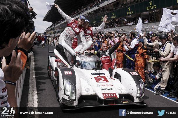 Audi supera adversidades e fragilidade de adversário e vence Le Mans pela 13º vez