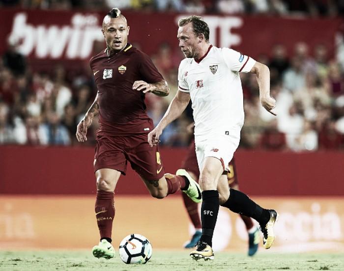 Sevilla toma susto no fim, mas vence Roma e conquista Troféu Antonio Puerta