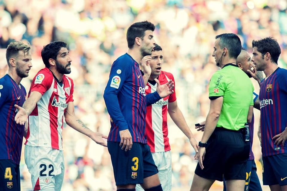 Barcelona marca no fim e empata em casa contra Athletic Bilbao pela La Liga