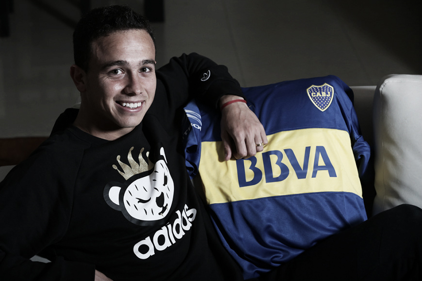 """Leo Jara: """"El año que viene volveré a Boca y trataré de ganarme el puesto"""""""