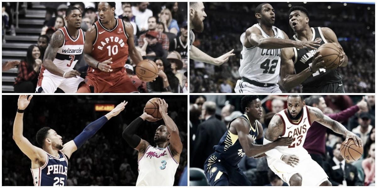 NBA Playoffs: análise da primeira rodada da Conferência Leste