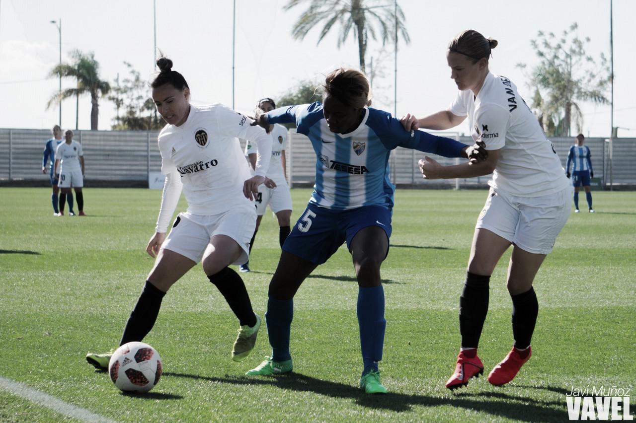 La falta de juego del Málaga cuesta la derrota ante el Valencia