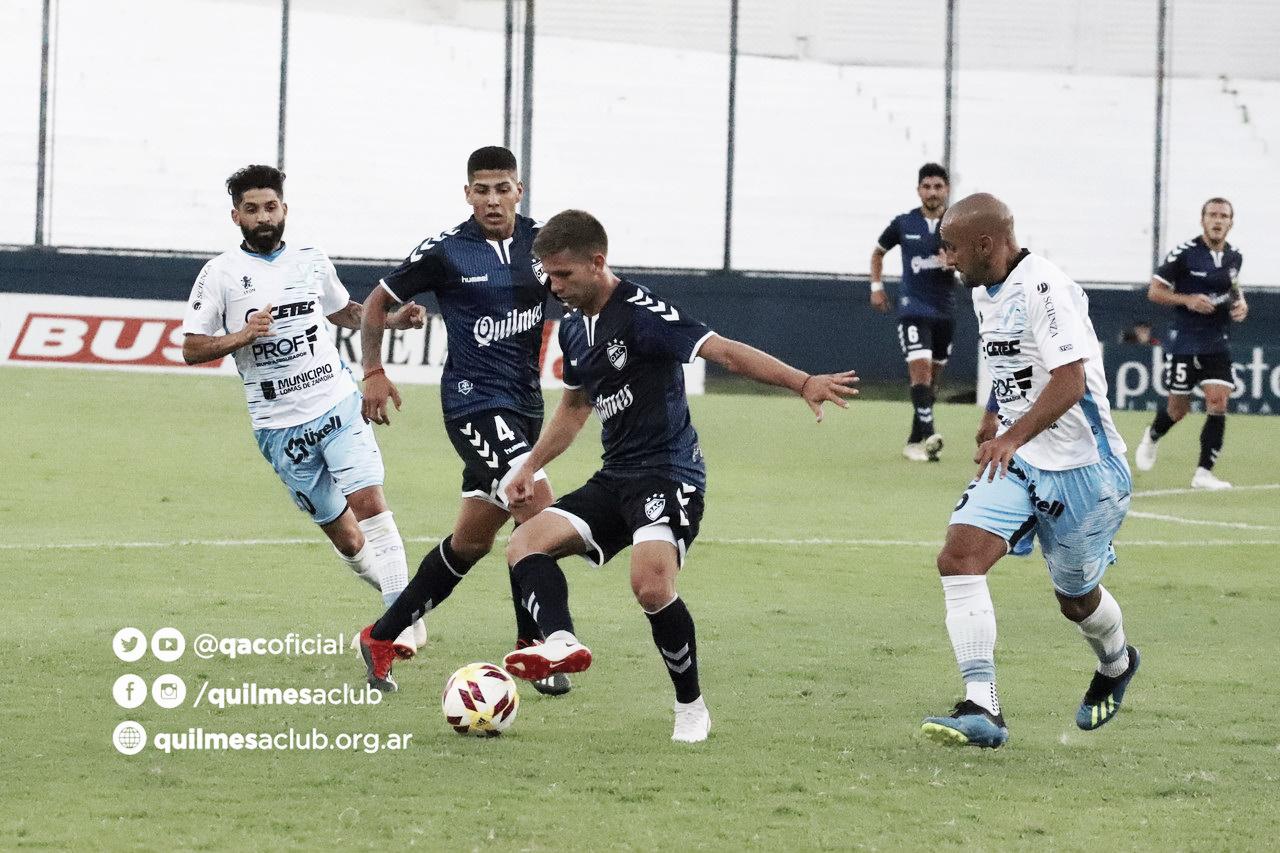 Quilmes y Temperley no pasaron del empate en la reanudación del campeonato