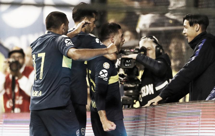 Boca profundizó la depresión de San Lorenzo