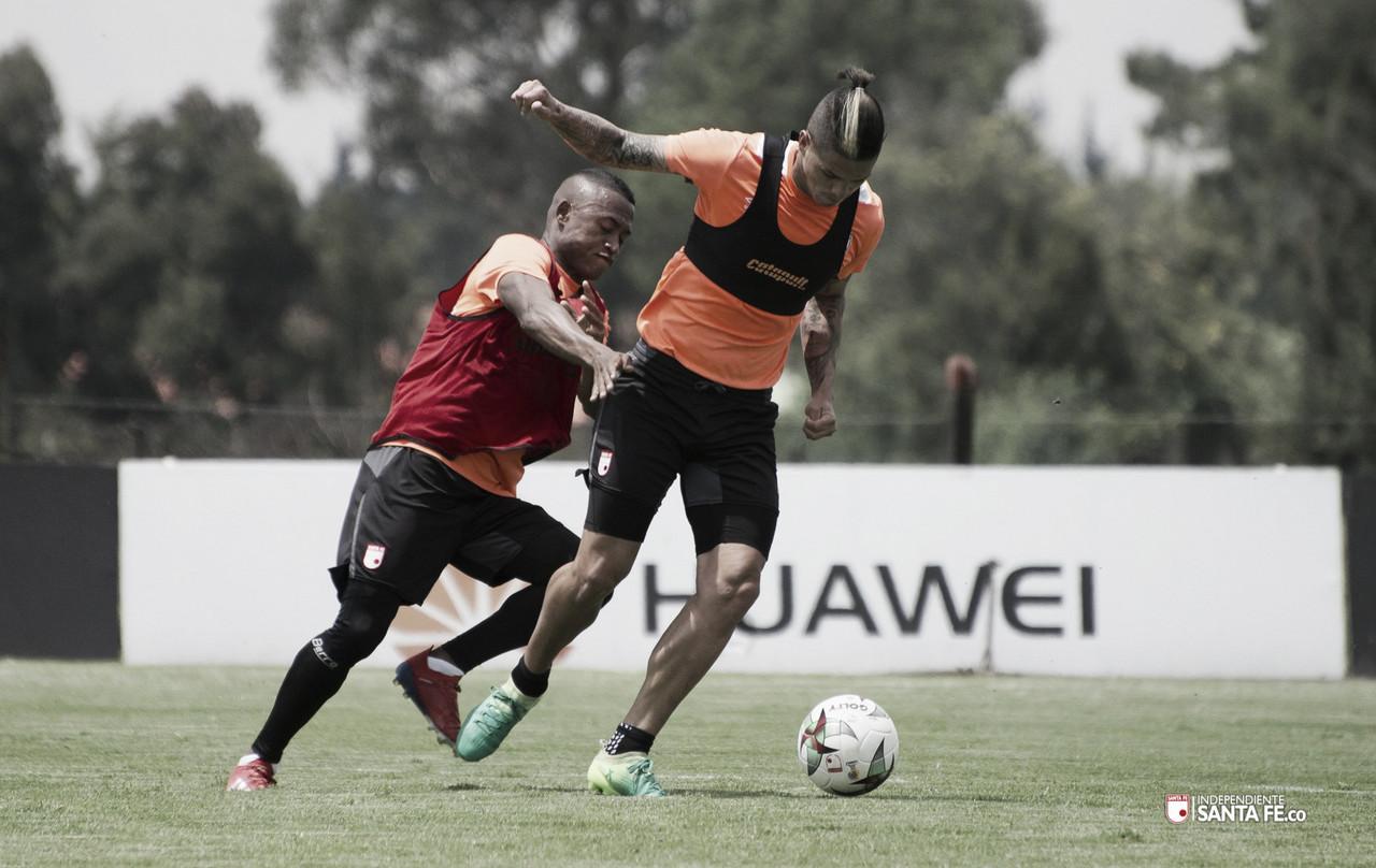 Independiente Santa Fe busca victoria ante Boyacá Chicó en Copa Aguila