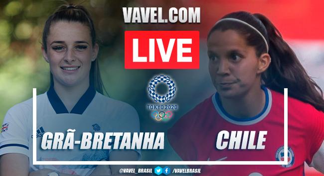 Gols e melhores momentos deGrã-Bretanha 2x0 Chile pelas Olimpíadas de Tóquio