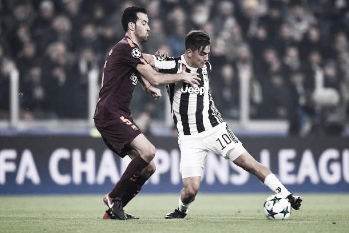 Juventus e Barcelona empatam sem gols em Turim e espanhóis confirmam vaga nas oitavas