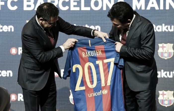 Barcelona anuncia seu novo patrocinador para a próxima temporada