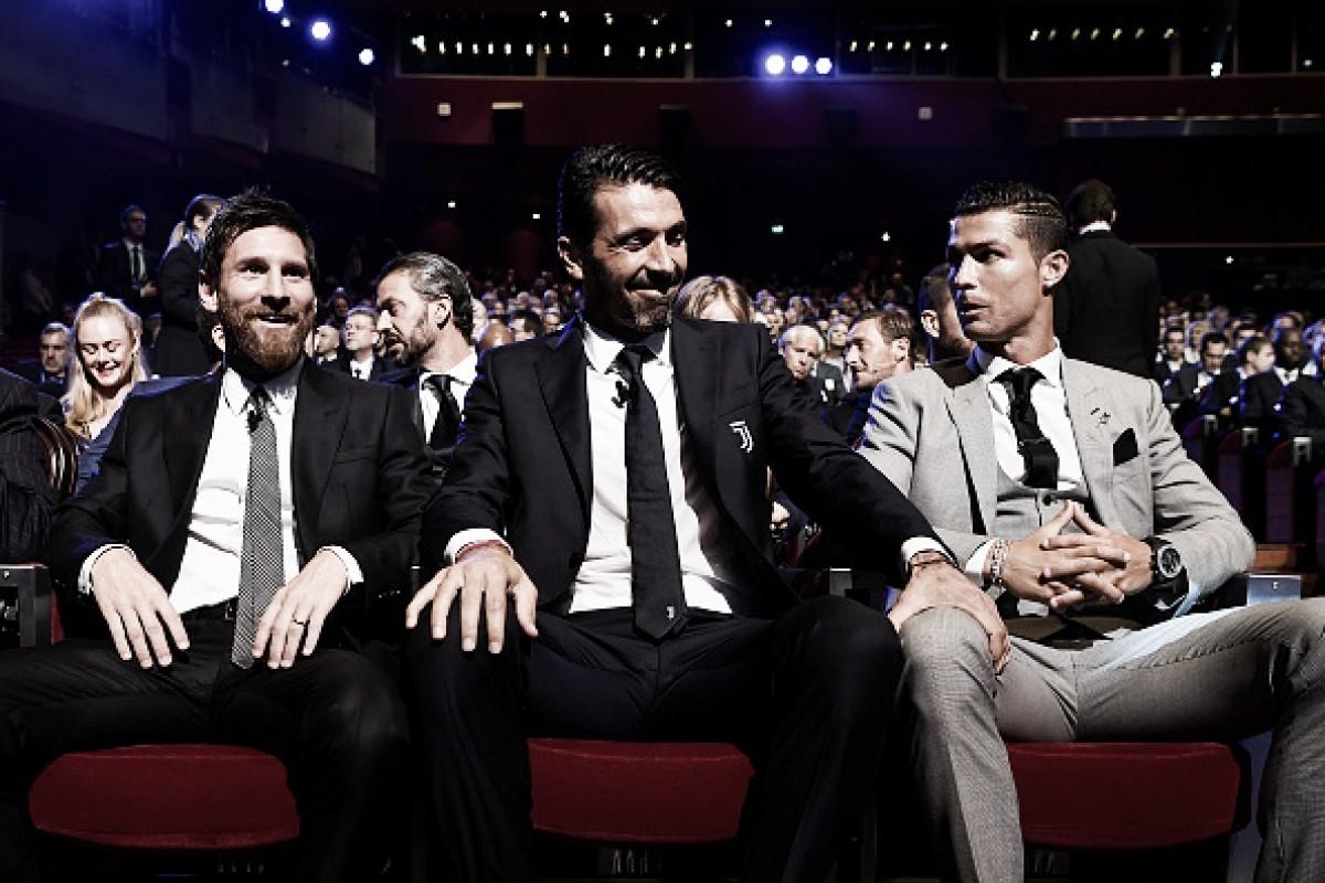 'Matador na área' x 'jogador mais completo': Buffon analisa Cristiano Ronaldo e Messi