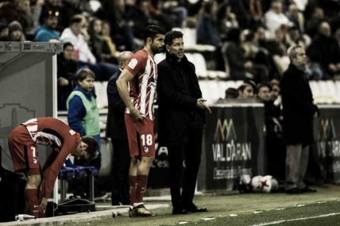 "Simeone exalta ataque do Atlético: ""Feliz e orgulhoso por ter jogadores de destaque"""